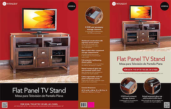 Media Console product photography